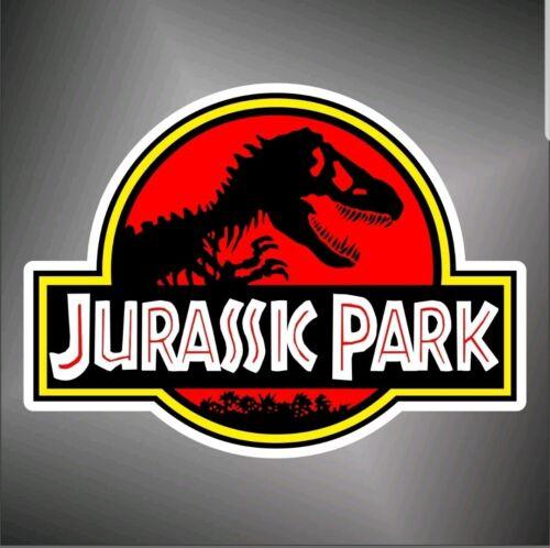 adesivo  jurassic park   sticker decal aufkleber autocollant pegatina