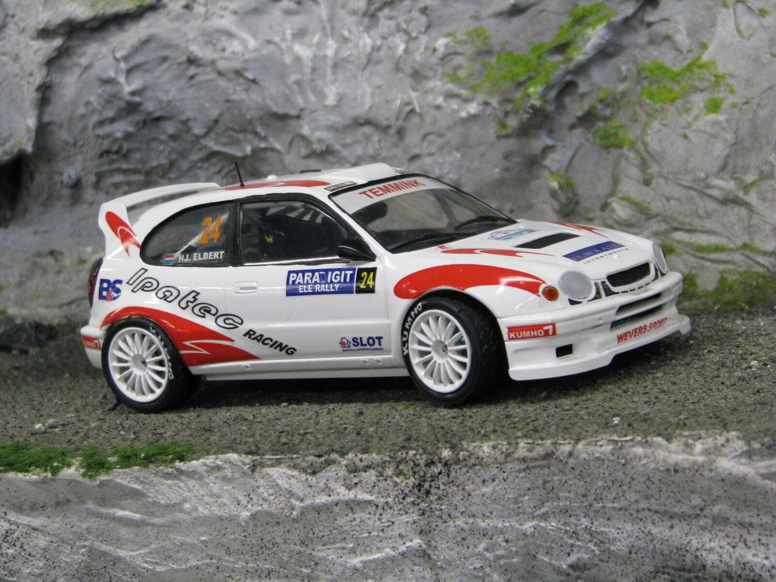 QSP Toyota Corlla WRC 1 24  24 Temmink   Elbert Paradigit ELE Rally 2007