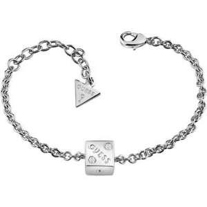 Guess-Schmuckstuecke-034-Rolling-Dice-Armband-Mit-Nuss-Zentrale-UBB83033-S-Neu