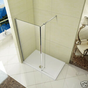 Image Is Loading L Shape Wet Room Shower Screen And 300mm