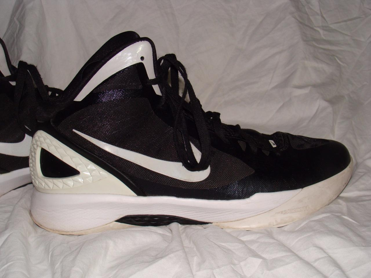 NICE USED NIKE ZOOM HYPERDUNK FLYWIRE HIGH TOPS Price reduction best-selling model of the brand