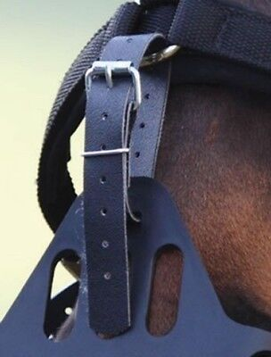 NEW Greenguard Muzzle Anti Grazing Muzzle To Headcollar Spare Straps Set of Four
