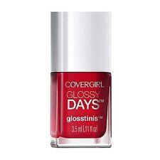 Cover Girl Glossy Days Glosstinis Nail Polish, Raving Hot [650] 0.11 oz