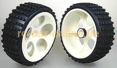 2 St FG Reifen Off-Road Buggy S schmal verklebt - 60214//05 Tire