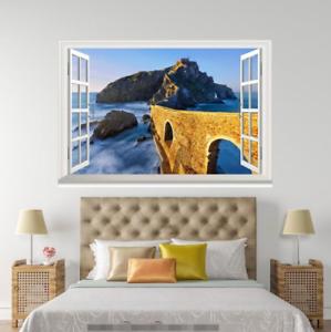3D Sunlight Sky 138 Open Windows WallPaper Murals Wall Print AJ Carly