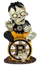 Boston Bruins - Sitting on Logo Zombie - Decorative Garden Gnome NEW