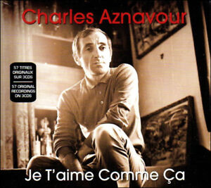 CHARLES-AZNAVOUR-57-Greatest-Hits-French-3-CD-BOX-SET-Orig-Songs-NEW
