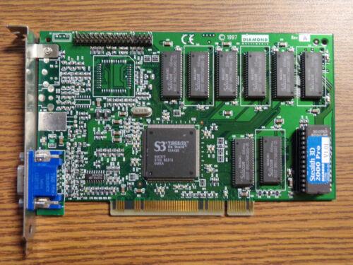 Diamond Stealth 3D 2000 Pro S3 Virge//DX 4MB PCI