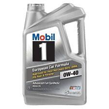 Mobil 1 0W-40 Advanced Full Synthetic Motor Oil 5 qt