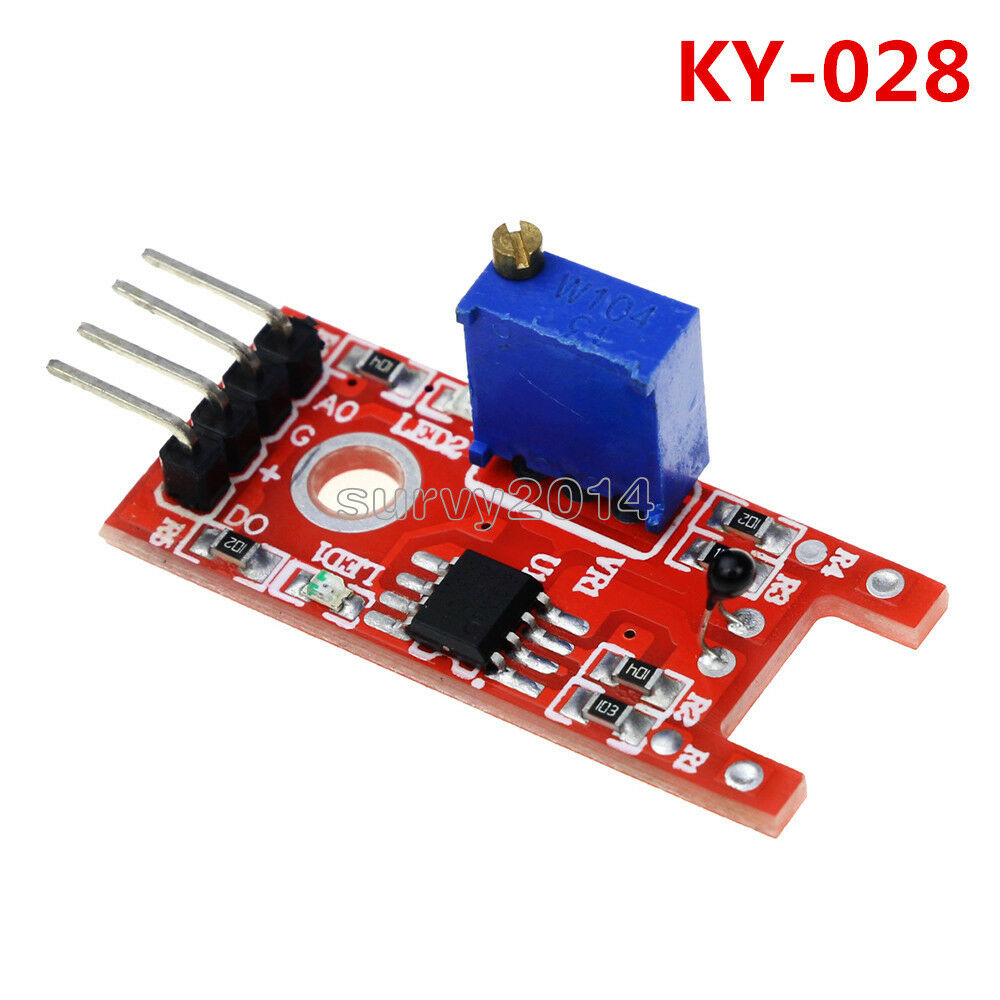 5PCS KY-013 PIC AVR Analog Temperatursensor Modul NTC Thermistor Für Arduino ED
