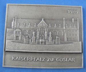 Antiquitäten & Kunst Selfless Buderus Plakette Eisen Eisenguss Eisenkunstguss Kaiserpfalz Zu Goslar 1989 Metallobjekte