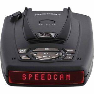 Escort-Passport-S75-Radar-Detector-w-BSM-Filter-amp-GPS-w-Auto-Lock