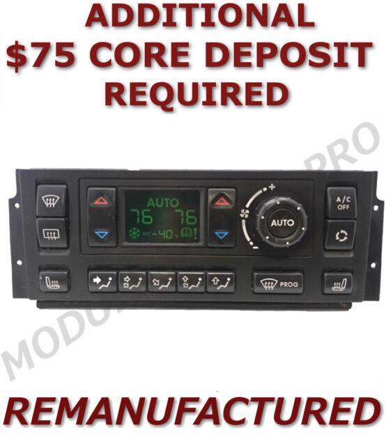 REMAN 99-02 RANGE ROVER P38 A/C Heater Climate AC Temperature Control  >EXCHANGE<