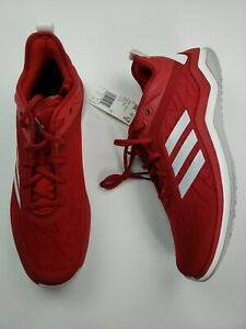 Details about Adidas Mens Size 12 Speed Trainer 4 Red Sport Running Athletic Shoe CG5136