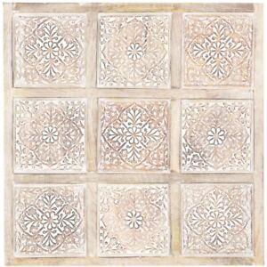 Details zu Orientalische Wanddeko Wandbild Wanpaneel Dekoration Wohnzimmer  Holz Küche Bad