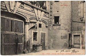 CPA-81-ALBI-Tarn-29-Hotel-des-Guize-Interieur-de-la-Cour