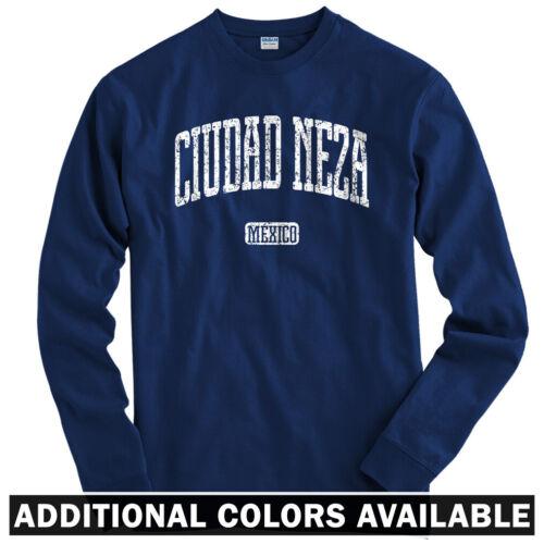 Jardin Nezahualcoyotl Men Ciudad Neza Mexico Long Sleeve T-shirt LS Youth