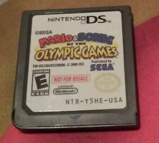 Mario & Sonic at the Olympic Games Not For Resale NFR Demo ONLY