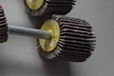 10st  Schleifstifte Fächerschleifer 6mm Schaft 25mm Ø  Korn 240  ETFS-6x25x240
