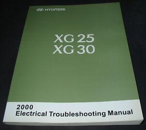 Werkstatthandbuch-Elektrical-Manual-Hyundai-Grandeur-XG-25-30-Schaltplaene-2000
