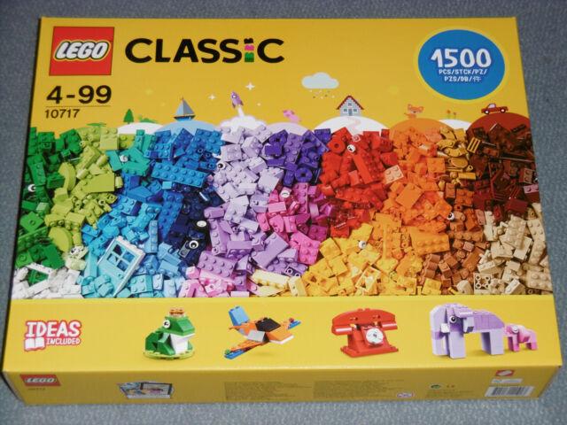 Lego 10717 Classic Extragroße Steinebox mit 1500 Teilen  neu und OVP