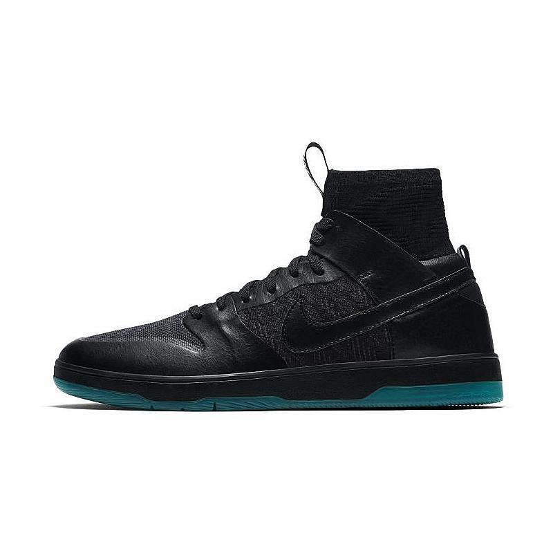 Nike SB Zoom Dunk High Elite in Black Atomic Teal 917567-003 New Men's Size 13