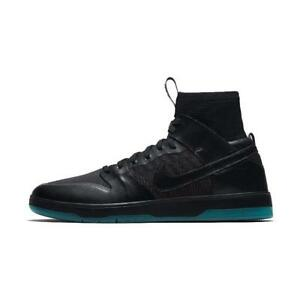 quality design 69aa9 d6d32 Image is loading Nike-SB-Zoom-Dunk-High-Elite-in-Black-