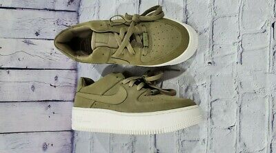 Nike Air Force 1 Sage Low Women's Green Running Shoes AR5339 200 AR5339 200