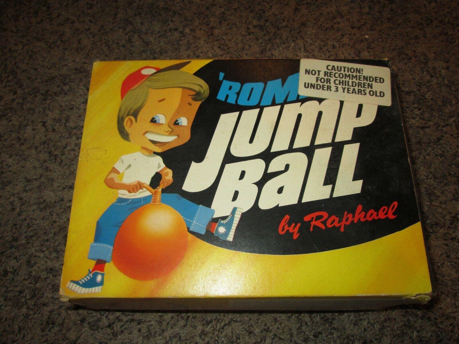 Vintage 1976 Romper Jumpbtutti by Raphael NOS wscatola