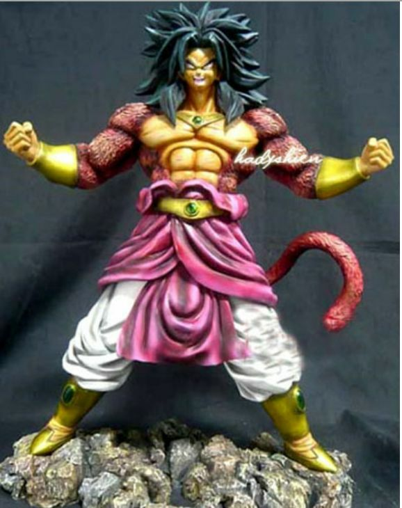 DragonBall GT Broly Super Saiya-jin 4 Broly GT Resin Statue 0b2bc3