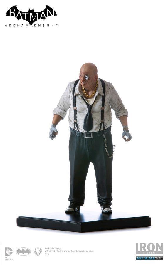 DC Iron Studios Arkham Knight Penguin 1 10 Scale Statue