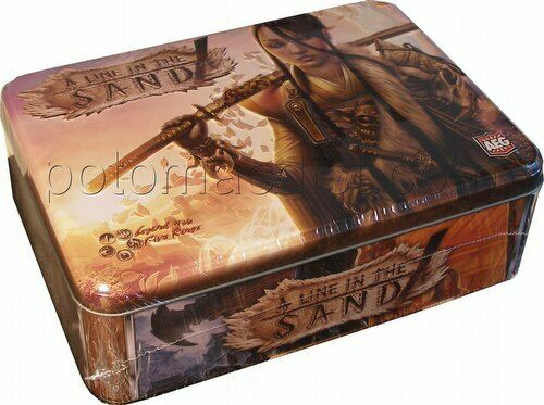 AEG LEGEND OF THE FIVE RINGS Game - L5R A Line Of The Sand Booster Tin NEW
