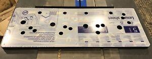 NFL-Blitz-Arcade-Lexan-Polycarbonate-Control-Panel-Protector-NOS-CPO-Plexi