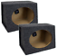 2 Speakers Q Power Angled Style 6 x 9 Inch Car Audio Speaker Box Enclosures
