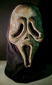 Concept Scream KNB Ghostface Killer Inspired Replica Handmade Latex Mask W/ Hood