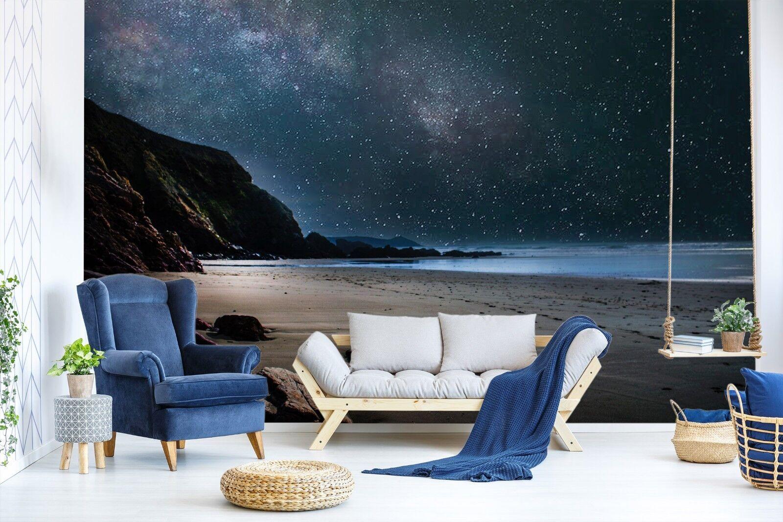 3D Strand Ozean 7085 Tapete Wandgemälde Tapete Tapeten Bild Familie DE Sidney