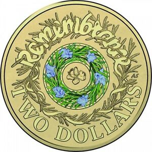 NEW-2017-COLOURED-REMEMBRANCE-DAY-2-Two-Dollar-Australian-Coin-UNC