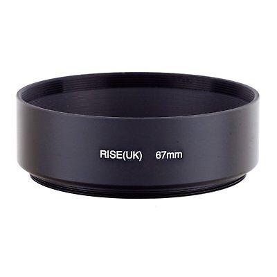 67mm Metal Standard Lens Hood For Canon Nikon Pentax OM