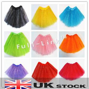 Image Is Loading Hot Girls Kids Adult Tutu Skirt Princess Party
