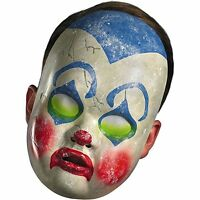 Baby Clown Mask Halloween Cosplay Creepy Face Adult Size
