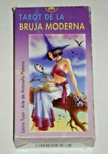 Witchy-Tarot-Tarot-De-La-Bruja-Moderna-Rare-OOP-78-Card-Deck-Near-Mint