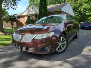 2010 LINCOLN MKS AWD NAVIGATION BACK-UP CAMERA LEATHER BLUETOOTH