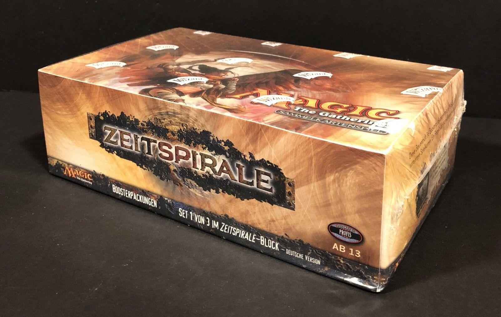 MTG MTG MTG Magic The Gathering Time Spiral Booster Box German (DE) - Factory Sealed  41c365