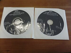 Dell-Webcam-amp-Inspiron-1010-Computer-Software-Installation-Discs-Unopened-2009