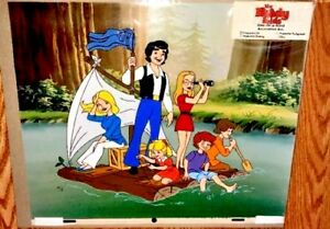 Vintage-Brady-Bunch-Cel-Brady-Kids-Adventure-Rare-Number-1-Publishers-Proof-Cell
