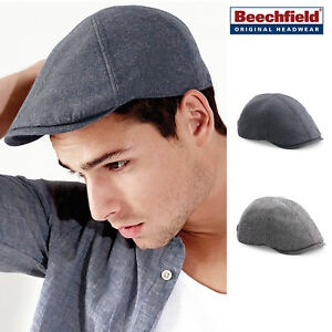 095fbc7fa160 Image is loading Beechfield-Summer-Gatsby-Cap-retro-style-cool-lightweight-
