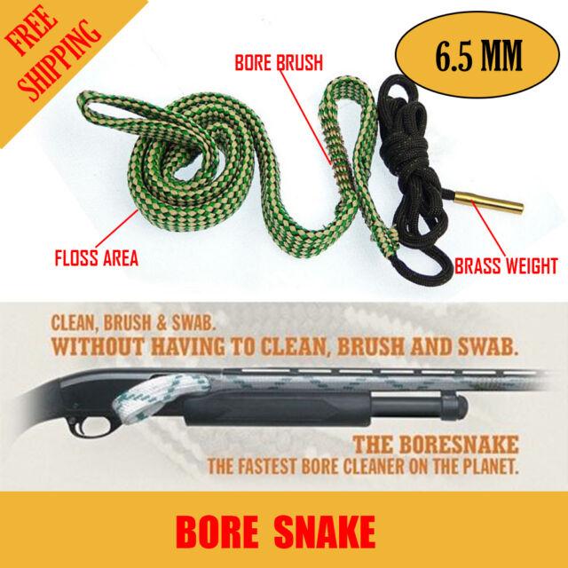 Bore Brush 6.5 MM Rifle Shotgun Pistol Cleaning Kit Borebrush Gun Snake Cleaner