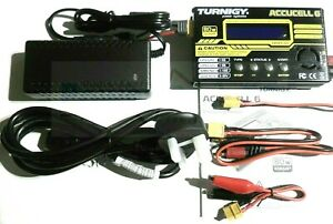 Turnigy-Accucel-6-V2-80w-10A-Balance-Charger-Netzteil-LiPo-NiMH-IMAX