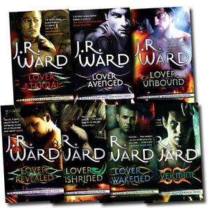 Black Dagger Brotherhood By J R Ward 7 Books Set Lover Avenged