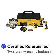 Dewalt 4-Tool Combo Kit DCK423D2R Certified Refurbished